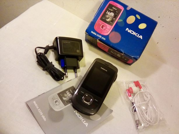 Nokia 2200 slide novo, na caixa