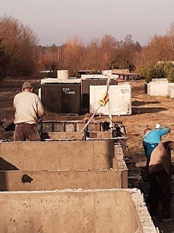 betonowe zbiorniki szamba 5m3 wodoszczelne atest gwarancja szambo
