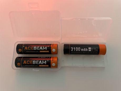 Ogniwa 18650 Acebeam 20A zabezpieczony