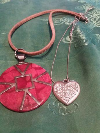 Медальён ожерелье, кулон сердце