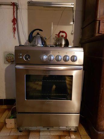 Kuchnia gazowa ARDO typ C6 stal nierdzewna