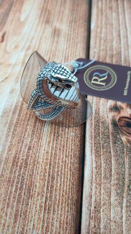 Шикарное кольцо серебряная печатка мужское кольцо