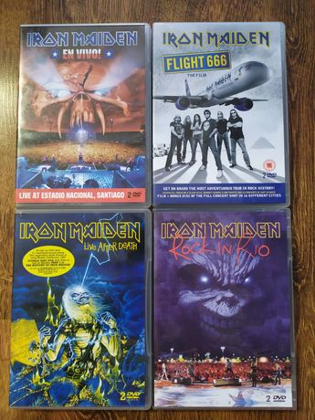 Iron Maiden koncerty DVD