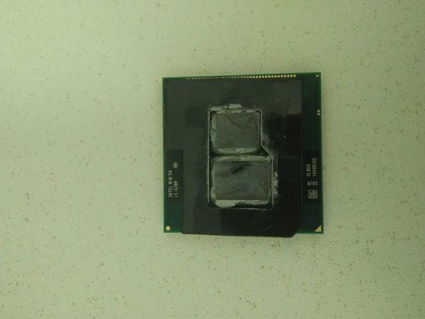 Процессор Intel Core i5-520m  2,4-2,93 Ггц Socket G1 988