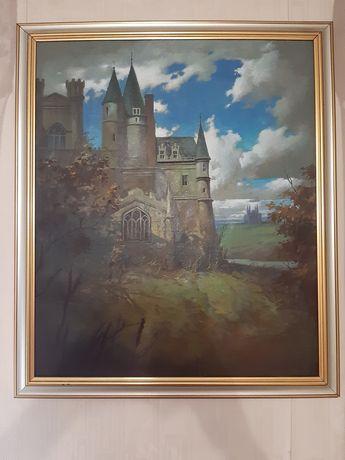 "Картина ""Замок"" Недобежкин"