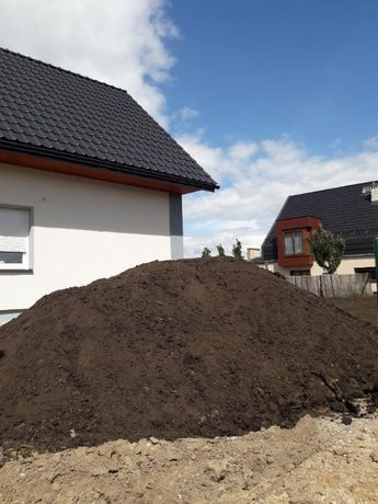 Ziemia do ogrodu, transport kruszyw 18-25 ton, wykopy