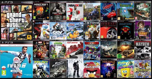 Konsola PS3 Slim | NAWET 50 GIER | GTA V | FIFA 19 | CFW 4.85