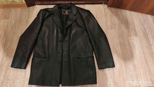 Пиджак мужской, кожа, разм L