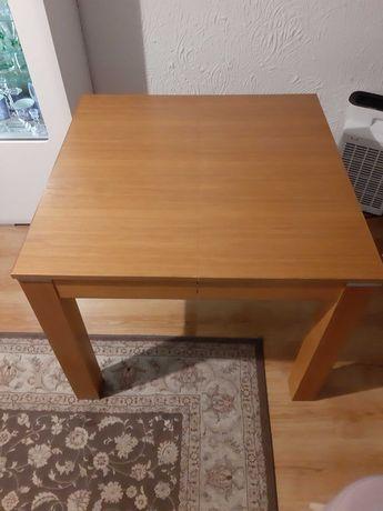 Okazja solidny stół drewniany olcha jasna.