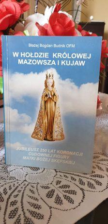 """Książka """"W hołdzie Królowej Mazowsza i Kujaw"""""""