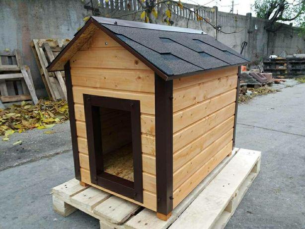 Будка для собаки 900х600.,утепл.(двускатная).