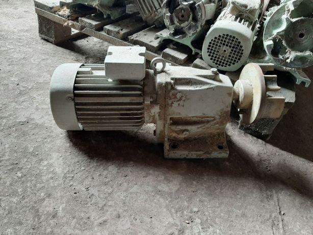 Motoreduktor przekładnia 0,37 kW 20 obr VEM do podajnika