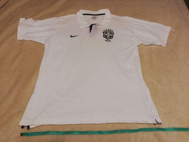 Koszulka Nike typ polo (Rep. Brazylii), Rozmiar XL