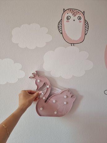 Nowa lampka dziecięca na ścianę