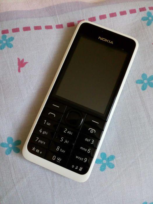 Nokia 301 - (biało - czarna) Wołów - image 1