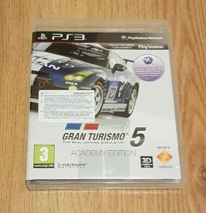 Gran Turismo 5 PS3 PL jak nowa