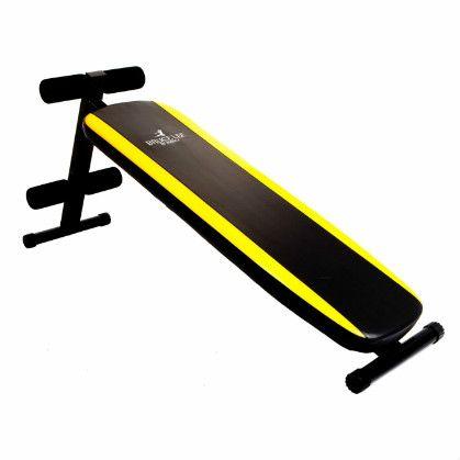 Ławka do ćwiczeń mięśni brzucha BRUCE LEE SIGNATURE SLANT BOARD 13BLSM