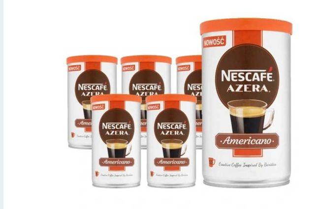 Nescafe Azera Americano Kawa mieszana 6x 100 g