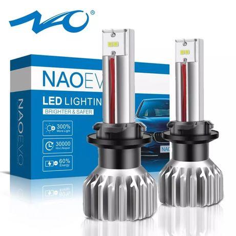 NAO Мощные T10 W5W светодиодные LED лампы габариты ДХО обманка Canbus