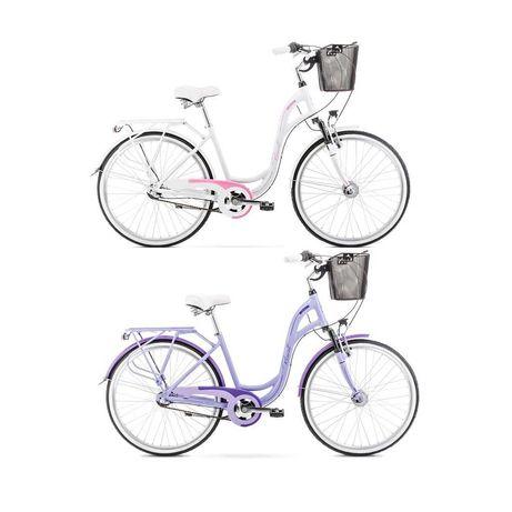 "Symfonia 2 rower miejski 26"" 2 kolory rama19"""