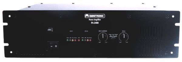 Końcówka mocy Omnitronic PA-2400 2x1kw 4 om
