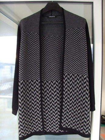 BETTY BARCLAY niemiecki kardigan sweter damski wełna rozm. 38 M, L