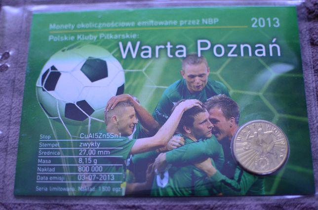 Blister 2zł Warta Poznań - 2013r