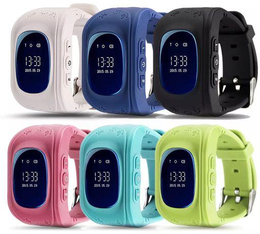 SMARTWATCH Q50 ZEGAREK lokalizator GPS dla dzieci OLED FV23%