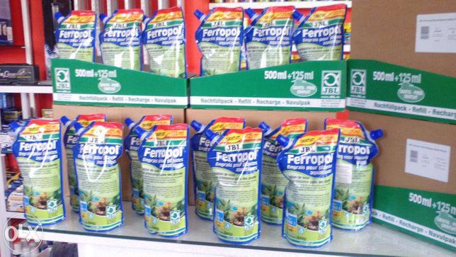 Fertilizante ferropol jbl para aquario 625ml