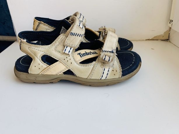 Кожаные сандали для мальчика, 29, 18, Timberland, шкіряні сандалі для