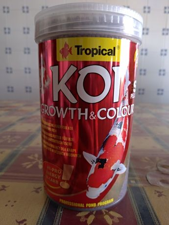 Comida Marca Tropical Koi Growth & Colour 1000ml