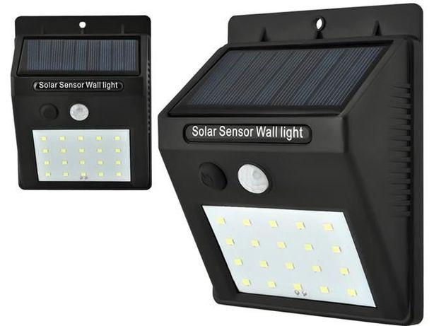 Candeeiro Luz solar LED Sensor de movimento para exterior Novos
