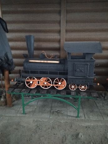 мангал паровоз ручная работа