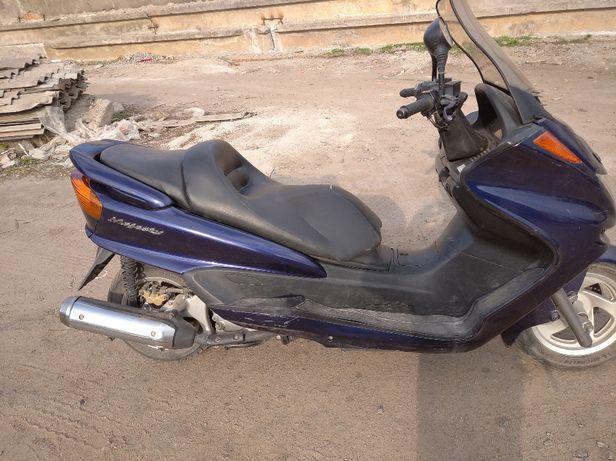 Разборка! Yamaha Majesty 250