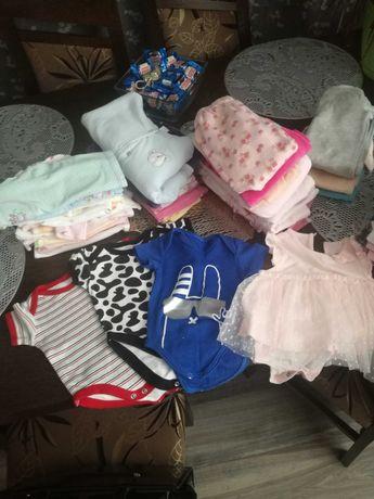 Ubranka dla dziewczynki 62