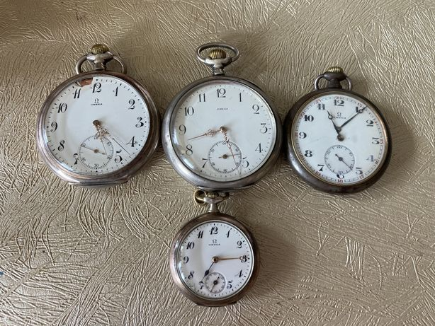 Zegarki kieszonkowe OMEGA antyk