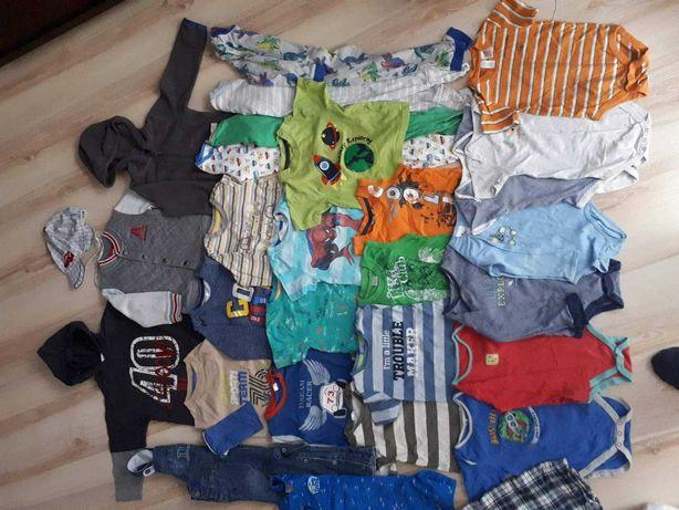 Zestaw ubranka dla chłopczyka, duża paka roz 92, 12 - 18 miesięcy