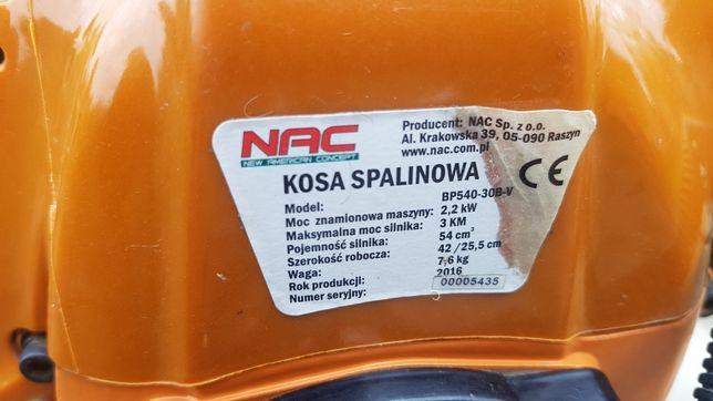 Sprzedam kosę spalinową NAC, 3KM