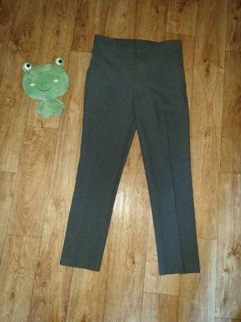 Классические брюки, штаны для мальчика 11,12 лет серые, для школы