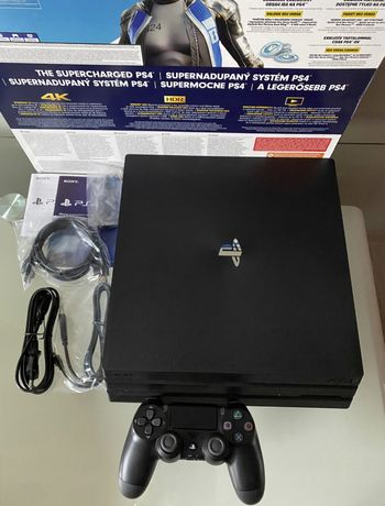PS4 PRO 1TB konsola PLAYSTATION 4 + Cod: ColdWar +Fifa 21 + 119GIER