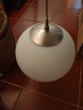 Candeeiro suspenso esfera