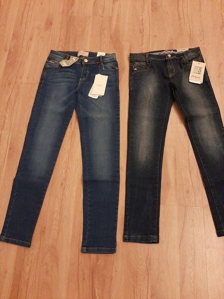 Super jeansy dla dziewczynki 134cm