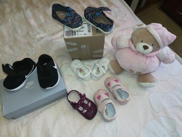 Сказочная обувь для малышки от 0+ до 1 года! 4 пары по цене 1!