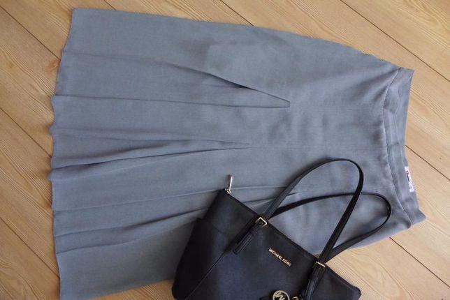 VERTEX vintage szykowna spódnica plisowana 42 L 40 PRL retro oryginał