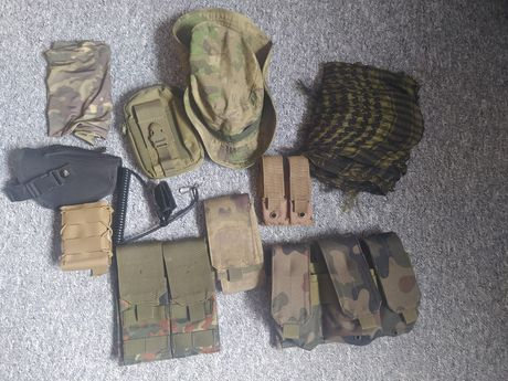 Szpej ASG (plecak, pas, ładownice)