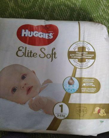 Памперсы Huggies Elite Soft 1 (3-5 кг)