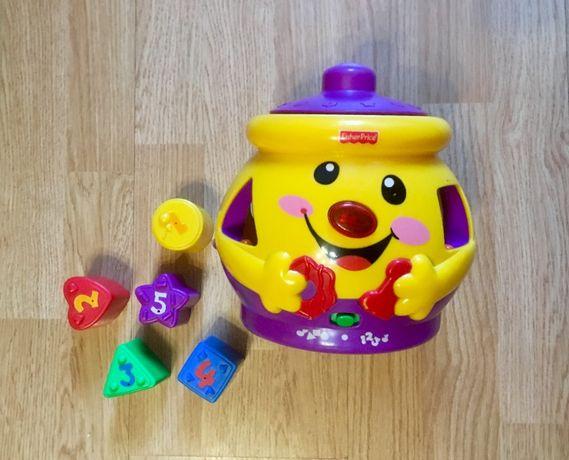 Волшебный горшочек, музыкальная игрушка, сортер Fisher-Price .