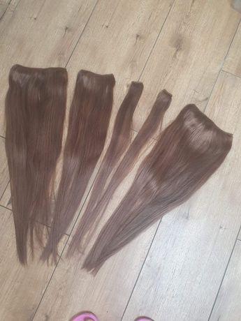 Włosy naturalne 55cm 220gram