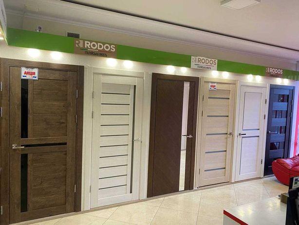 Міжкімнатні двері шпоновані / фарбовані / ламіновані / приховані