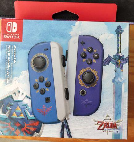 Kontrolery Joy Con Nintendo Switch Zelda Skyward Sword Limited